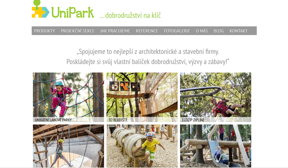 Unipark -dobrodružství na klíč